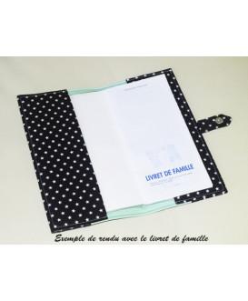 Protège livret de famille rigide - personnalisé - Cadeau de naissance personnalisé